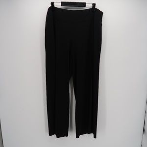 Lane Bryant Black Career Flat Front Pants 18/20